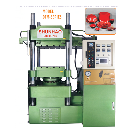 200Ton Automatic Hydraulic Press Melamine Moulding Machine For Tableware Dinner Set