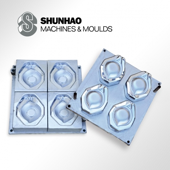 718H Steel Melamine Plate Mould With Hard Chrome