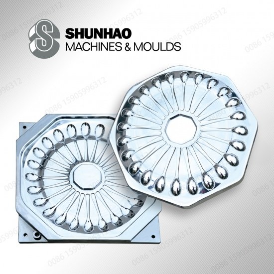 High production Melamine Spoon Molds With Hard Chrome And 718H Steel
